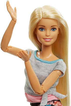 Кукла Барби Двигайся как я Безграничные движения Блондинка 22 Barbie Made To Move Doll, Blonde, фото 2