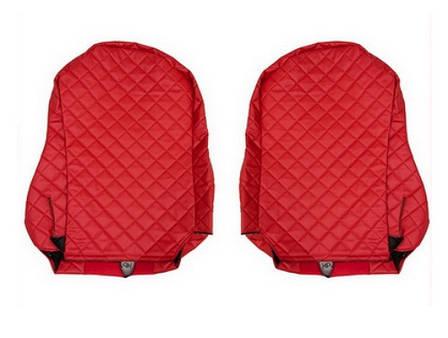 Копия Чехлы на сидения SCANIA R,G,P, красные(6952), фото 2