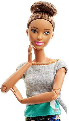 Кукла Барби Брюнетка Безграничные движения Двигайся как я Йога 22 Barbie Made To Move Doll, Brunette, фото 2