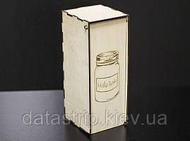 Коробка из фанеры 270х110х110 мм