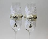 Свадебные бокалы Кристальная роскошь