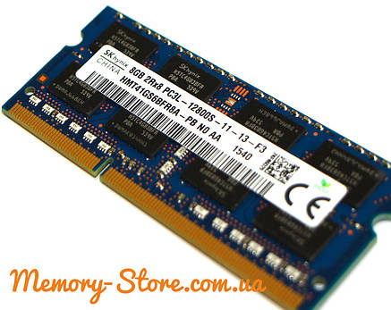 Оперативная память для ноутбука Hynix DDR3 8GB PC3L-12800S 1.35V SODIMM (б/у), фото 2