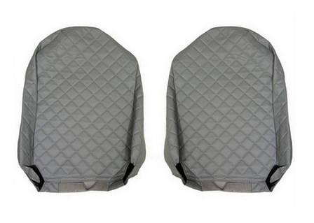 Чехлы на сидения SCANIA R,G,P, серые, сидения разной высоты(6955), фото 2