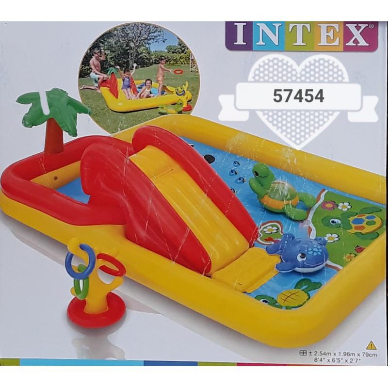 Игровой центр Аквапарк Intex 57454, 254х196х79 см
