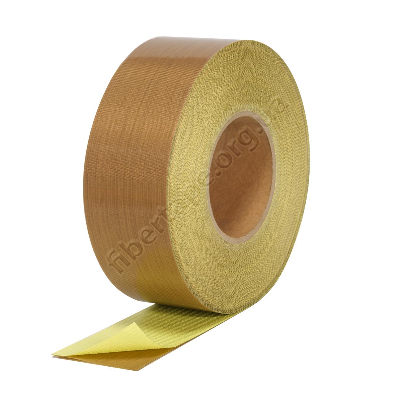Тефлоновая лента (пленка) с клеем, ширина 20 мм, 75 микрон