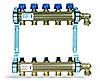 Коллектор HKV  (TYP 510MT) из латуни для теплого пола (5 выходов)