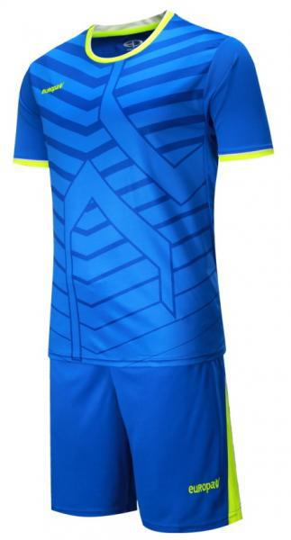 Детская футбольная форма Europaw (синяя) 015