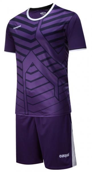 Детская футбольная форма Europaw (фиолетовая) 015