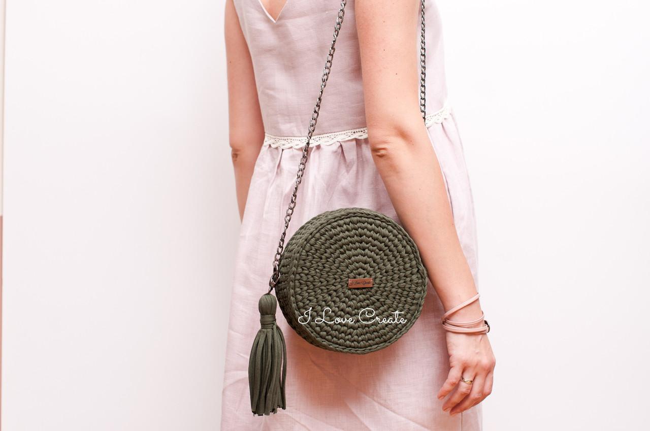 вязаная сумка Bali Bag из трикотажной пряжи продажа цена в киеве