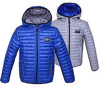 Двухсторонние демисезонные куртки на мальчиков, фото 1