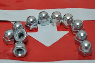 Гайки колпачковые DIN 1587, ГОСТ 11860-85 с мелким шагом резьбы, класс прочности 6.0
