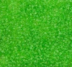 """Посыпка """"Сахарные кристалы"""" зелёные 100г Галетте - 04746"""