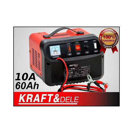 Автомобильное зарядное устройство 12V 24V 10A 60Ah KD1905, фото 2