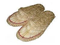 Лапти плетеные кукрузные