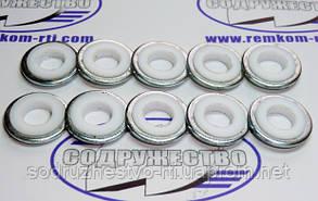 Шайба алюминиевая 9.3*20-3.5 прокладка форсунки-экран 245-1111020 ФД-22 (фторопласт) Д-245, Д-260, ЗиЛ-5301