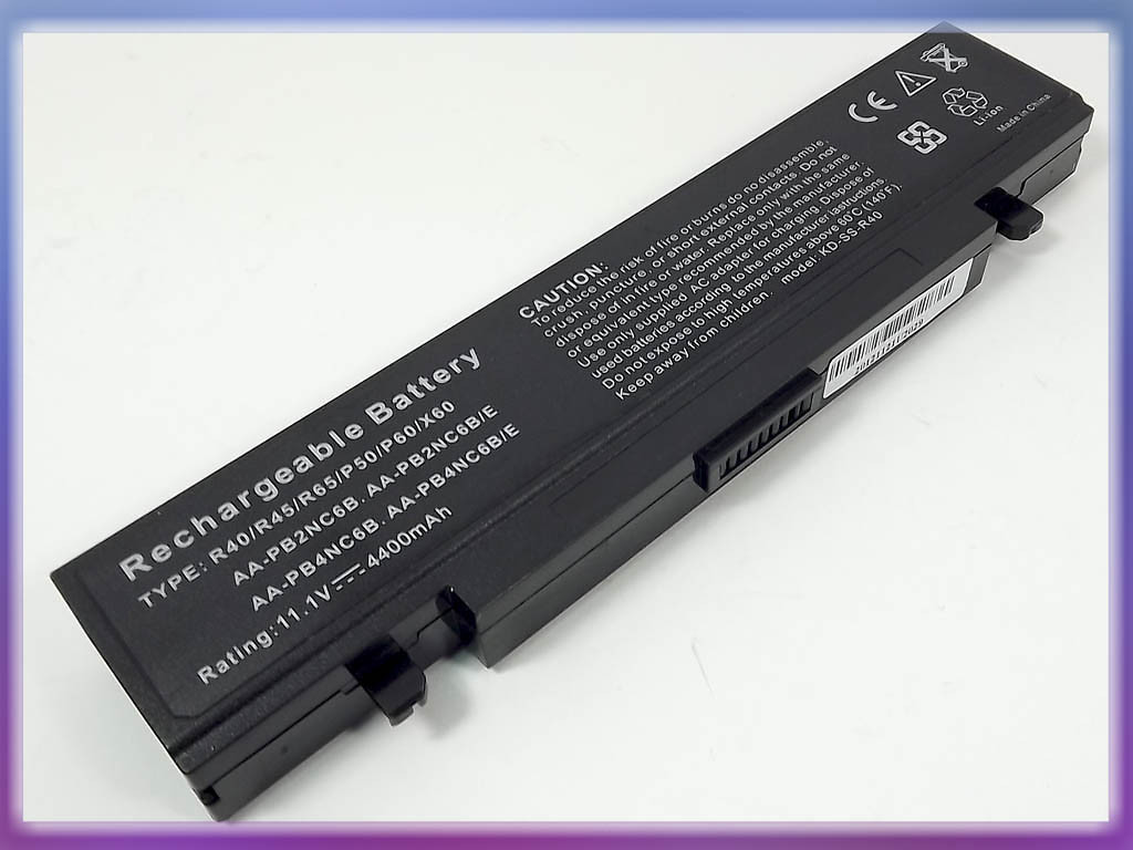 Батарея SAMSUNG R70 10.8V 4400mAh (AA-PB4NC6B AA-PB6NC6B)