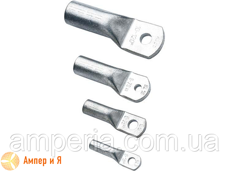 Алюминиевый кабельный наконечник для опрессовки DL-35 (ТА-35, 35-10-8-А-УХЛ3), фото 2