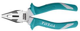 Комбинированные плоскогубцы TOTAL THT210806 L=200мм.