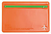 Органайзер для документов 180*270мм на молнии L6121 оранж/с