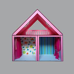 Кукольный домик Особняк Барби 2 этажа/3 комнаты
