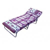 """Кровать раскладушка для дачи с матрасом """"М60"""""""