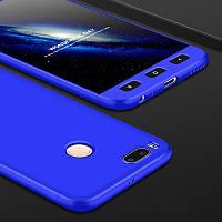 Чехол GKK 360 для Xiaomi mi A1 / mi 5x Бампер накладка Blue