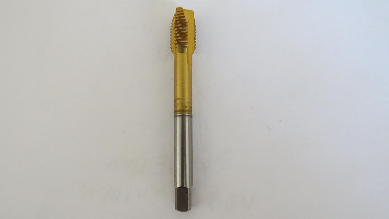 Метчик М10х1,25 DIN352 TIN HSS-E тип(В) прямой ПР укороченный