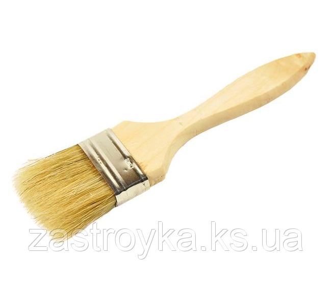 Кисть флейцевая дерево 14х75мм, Украина
