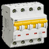 Автоматический выключатель ВА 47-60 4Р 40А 6 кА С IEК, фото 1