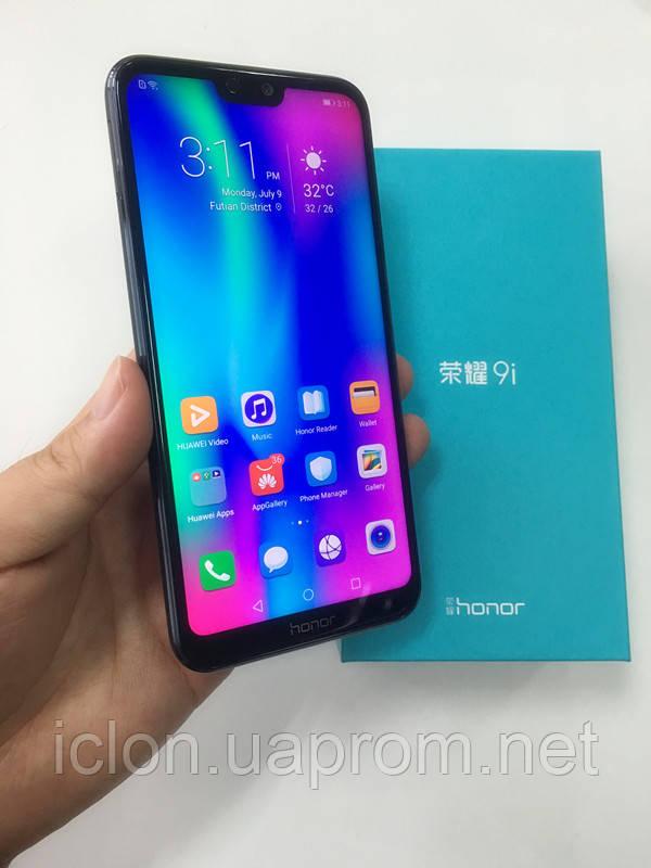 "Оригинал Huawei Honor 9i 5.84"" Kirin 659*4/6Gb RAM+64/128Gb ROM+ЧЕХОЛ+БРОНЬ СТЕКЛО"
