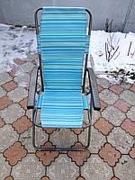 """Шезлонг, складное кресло для дачи """"Мальта"""""""