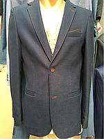 Пиджак подростковый фактурный
