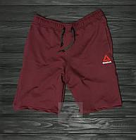 Мужские шорты Reebok, мужские шорты Рибок, спортивные шорты, брендовые шорты мужские, красные