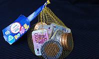 Шоколадные монеты 150г, фото 1