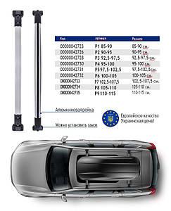 """Универсальный аэродинамический багажник на рейлинг """"Стелс"""""""
