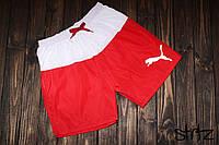 Молодежные Пляжные шорты/плавки мужские для плавания/купания пума (Puma), копия