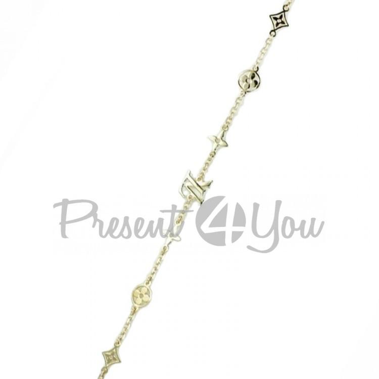 Золотой браслет Литон - 3,88 г  (BS318u)