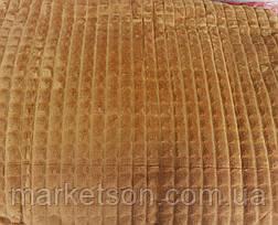 Велюровое покрывало плед Крокодил Евро размер 200*230, фото 2