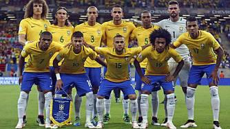 Футбольная форма сборной Бразилии Чемпионат Мира 2018