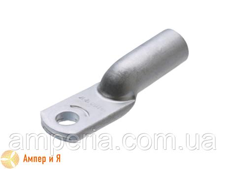 Алюминиевый кабельный наконечник для опрессовки DL-185 (ТА-185, 185-16-19-А-УХЛ3), фото 2