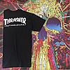 Футболка Thrasher Huf Worldwide. Реплика Топ