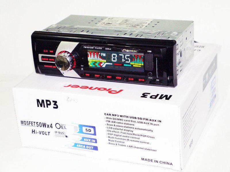 Магнитола Pioneer 6243в автомобиль стандартная FM-тюнер с автосканированием