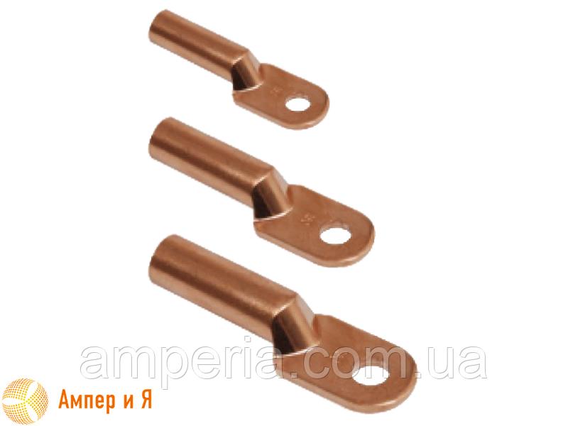 Медный кабельный наконечник для опрессовки DT-16 (ТМ-16, 16-8-5,4-М-УХЛ3)