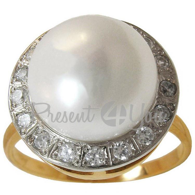 Золотое кольцо Богема - 4,80 г (KV173u(1))