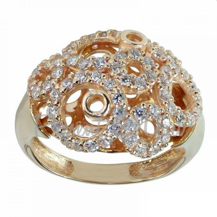 Золотое кольцо Жанет -4,99 г (KV430u)