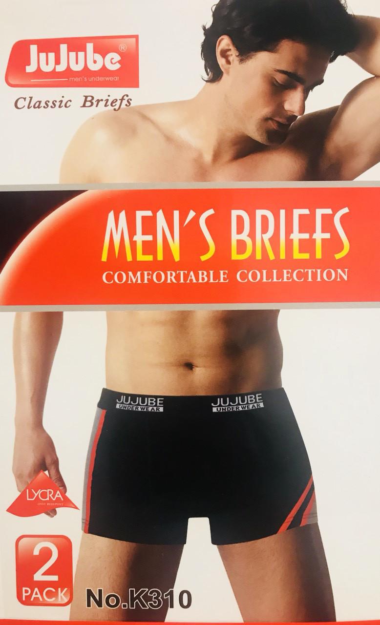 Трусы мужские боксёры хлопок JuJuBe размер XL-4XL(46-52) 310