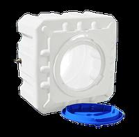 Емкость пластиковая для душа 100 л квадратная