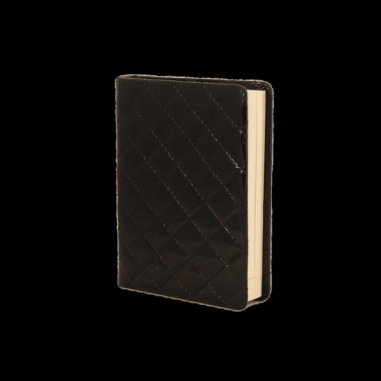Ежедневник недатированный Buromax DONNA, A6, черный
