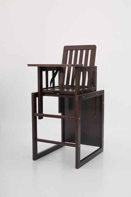 Детский деревянный стульчик для кормления DeSon МАЛЫШ M18-03