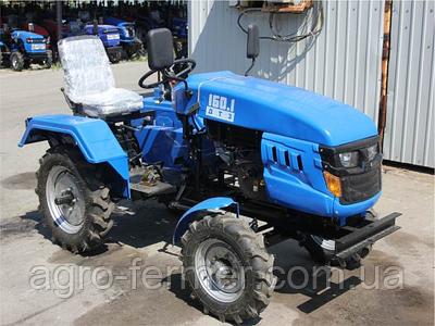 Міні-трактор, Трактор ДТЗ 160.1 (16 к. с.,колеса 5,00-12/6,5-16, регульована колія, з генератором)